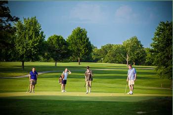 Golf course nearby Alhonna Resort.