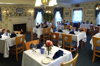 The Pennington Room at Historic Afton House Inn.