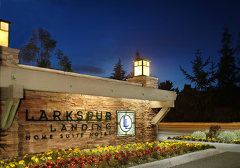Exterior view of Larkspur Landing - Pleasanton.