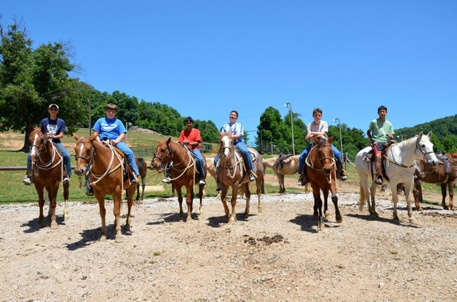 Horseback Riding at Horseshoe Canyon Ranch