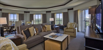 Luxury suite at La Cantera Hill Country Resort.