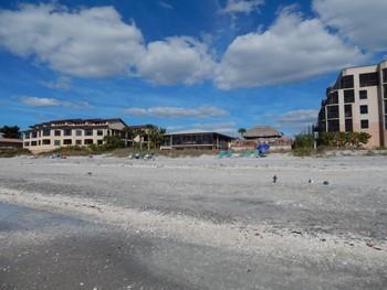 The beach at Sea Oats Beach Club.