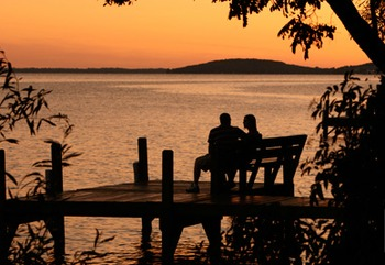 Romantic Sunsets at Heidel House Resort