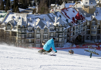 Skiing at Fairmont Tremblant Resort.