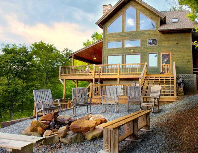 above the rest luxury cabins blue ridge ga resort reviews. Black Bedroom Furniture Sets. Home Design Ideas