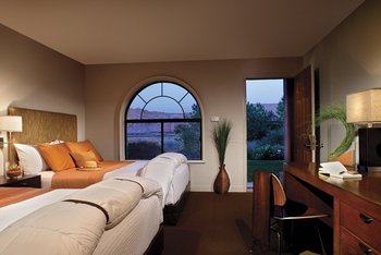 Guest room at Red Mountain Resort.
