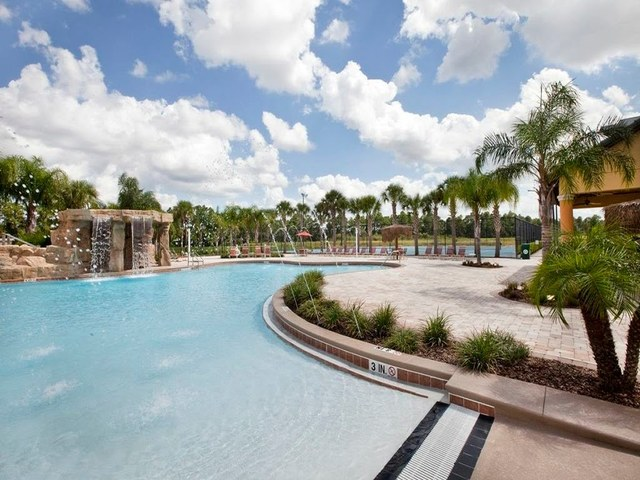 Outdoor pool at Vista Vacation Rentals.