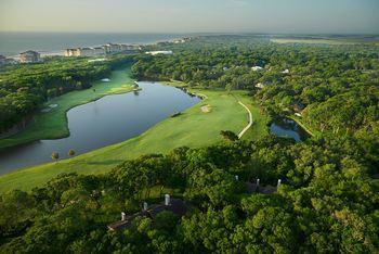 Golf course at The Villas of Amelia Island Plantation.