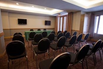 Conference room at Cahilty Lodge.