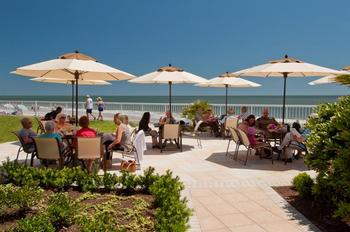 Ocean Terrace Grill at The King and Prince Beach Resort.
