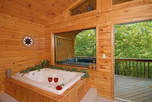 Sevierville vacation rentals cabin cowboy hideaway a for Timber tops cabins gatlinburg