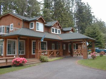 Exterior view of Selah Inn Bed & Breakfast.