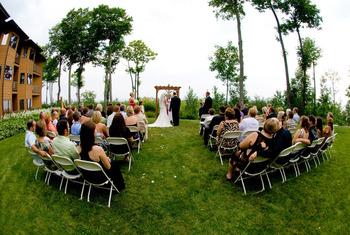 Wedding at Landmark Resort.