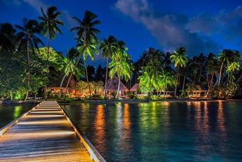 Exterior view of Jean-Michel Cousteau Fiji Islands Resort.
