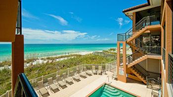 Beach view at Island Real Estate.
