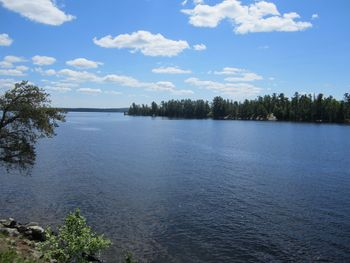Lake view at Kec's Kove Resort.
