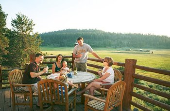 Family time at Aspen Ridge Resort.