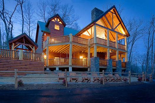 Vacation lodges at American Patriot Getaways, LLC.