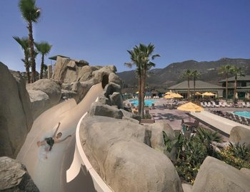 Waterpark at Lawrence Welk Resort Villas.