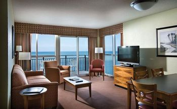 Suite interior at Bay View Resort.