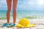 A Beach Scene at Springmaid Beach Resort