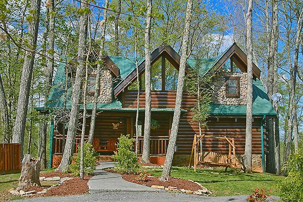 Pigeon forge vacation rentals cabin spectacular 3 - Gatlinburg 3 bedroom condo rentals ...