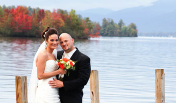 Wedding at The Georgian Lakeside Resort.