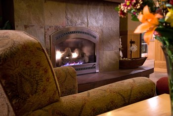 Relax by the fire at Inn at Cape Kiwanda.