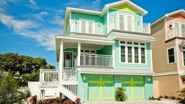 Vacation rental exterior at Island Real Estate.