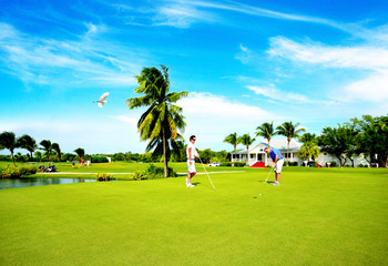 Golf course near Rent Key West Vacations.
