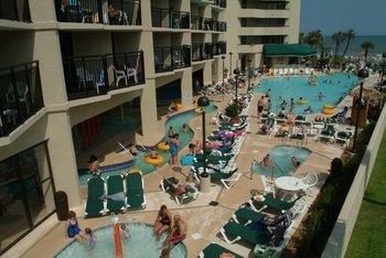 Outdoor pool at Ocean Reef Resort.