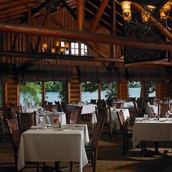 Ruttger's Ruby's Dining Room at Ruttger's Bay Lake Lodge.