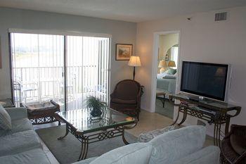 Rental living room at Liberte Management Group.