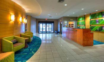 Front Desk at SpringHill Suites Tampa Brandon