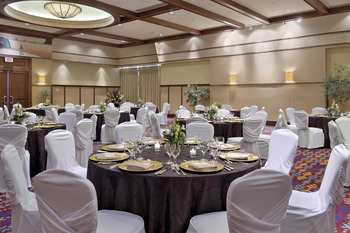 Wedding reception at Fairmont Tremblant Resort.