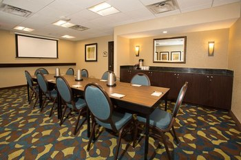 Meeting room at Rosen Inn International.