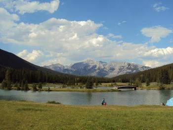 Cascade Ponds View at The Banff Aspen Lodge