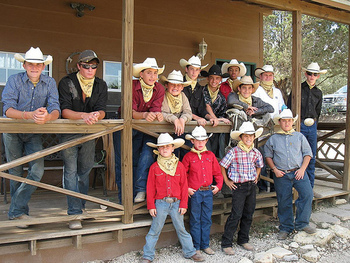 Young Cowboys at Rancho Cortez