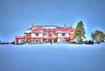 Winter time at Ocean Edge Resort & Golf Club.