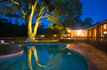 Outdoor pool at Wilpena Pound Resort.