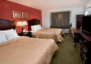 Two Queen Room at Comfort Inn and Suites Dulles