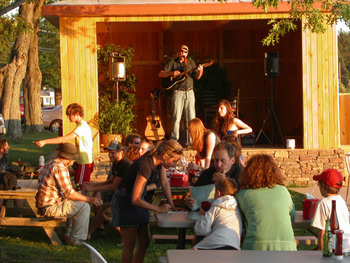 Live music at Edinboro Lake Resort.