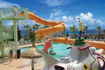 Water park at Caribbean Resort & Villas.