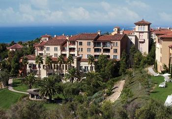 Exterior view of Marriott-Newport Coast Villas.