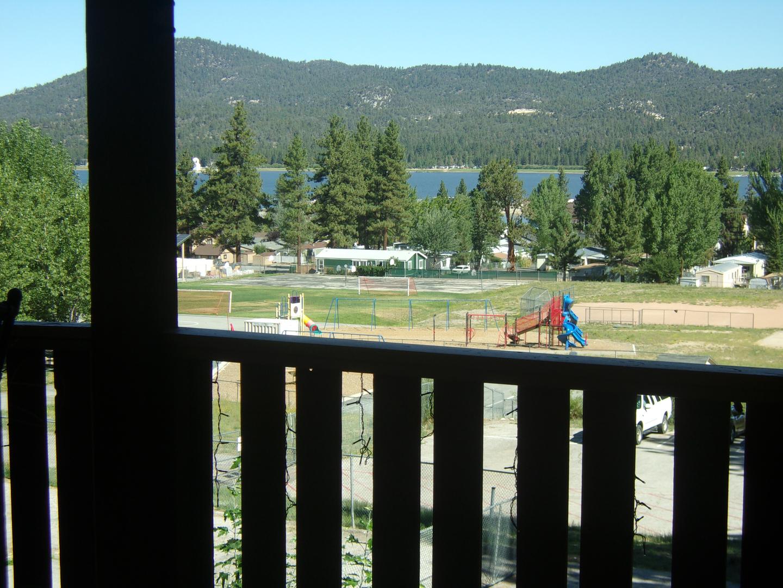 View at Honey Bear Lodge & Cabins.