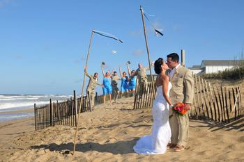 Beach wedding at The Sea Ranch Resort.