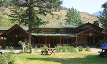 Lodge Exterior at Shoshone Lodge & Ranch