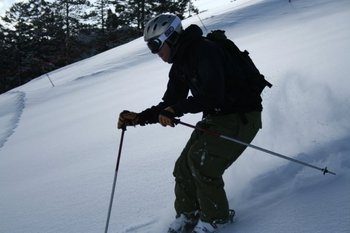 Skiing at Devils Head Resort & Convention Center.