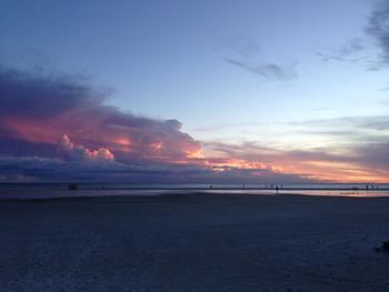 Sunrise at Gulfview Manor Resort.