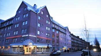 Exterior view of Arctic Hotel Lulea.
